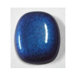 Blue Cabochon  34 x 29mm, 1pc