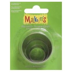 Clay Cutters 3/Pkg - Round - Makin's